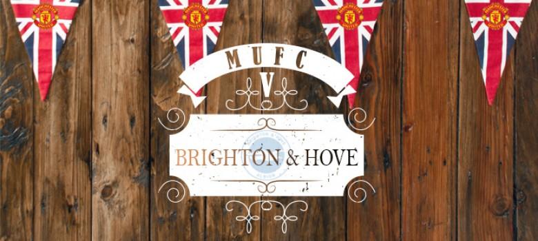 Manchester Utd V Brighton & Hove Albion